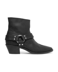 Golden Goose Deluxe Brand Bretagne Distressed Leather Ankle Boots