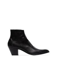 Saint Laurent Finn 60 Cowboy Boots