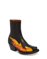 Vetements Flame Cowboy Boot