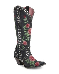 Lane Boots X Junk Gypsy Wild Stitch Embroidered Boot