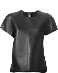 Acne Studios Leather T Shirt
