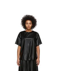 MM6 MAISON MARGIELA Black Zipped Blouse