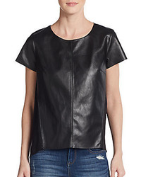 Calessino faux leather top medium 443674