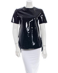 Givenchy Patent Leather T Shirt W Tags
