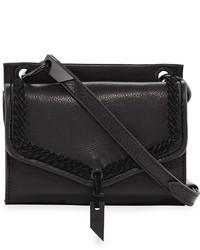 Foley + Corinna Ami Leather Mini Crossbody Bag Black