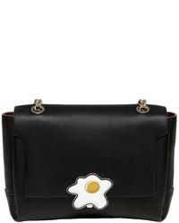 Anya Hindmarch Egg Lock Leather Crossbody Bag
