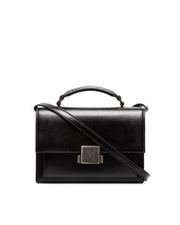 Saint Laurent Black Bellechasse Leather Shoulder Bag