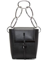 3.1 Phillip Lim Black Small Leigh Crossbody Bag