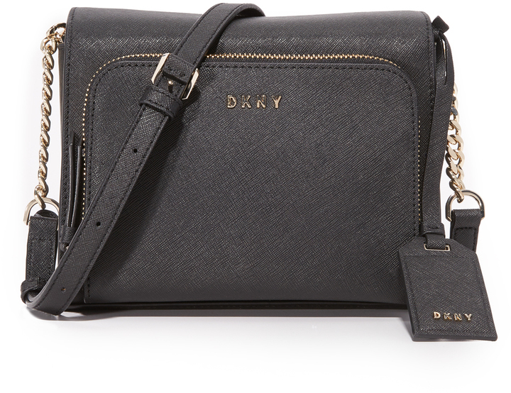5d4c486742 ... Black Leather Crossbody Bags DKNY Bryant Park Cross Body Bag ...