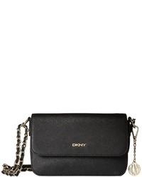DKNY Bryant Park Saffia Small Flap Crossbody W Adjustable Chain Handle