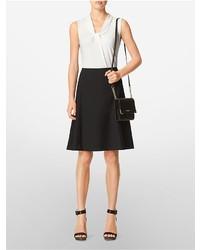 da799bc401c Calvin Klein Saffiano Leather Crossbody Bag, $148 | Calvin Klein ...