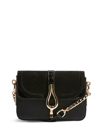 Topshop Capricorn Faux Leather Crossbody Handbag