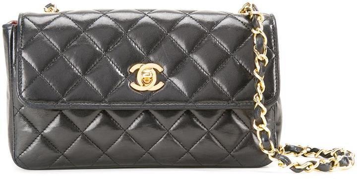 4722fc6862a5 Chanel Vintage Mini Half Flap Crossbody Bag, $4,655 | farfetch.com ...