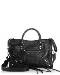 Balenciaga City Small Leather Messenger Bag