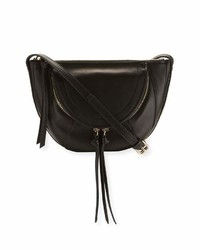 Kooba Clara Half Moon Mini Crossbody Bag Black