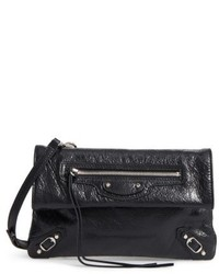 Balenciaga Classic Mini Envelope Crossbody Bag Black