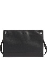 Rag & Bone Compass Leather Crossbody Bag Black