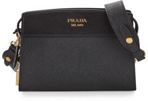 e46944450b89e2 Prada Esplanade Saffiano Crossbody Bag, $1,650 | Neiman Marcus ...