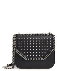 Stella McCartney Fallabella Box Faux Leather Crossbody Bag Black