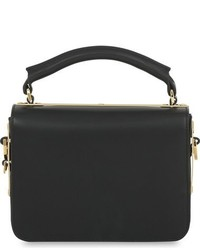 Sophie Hulme Finsbury Leather Shoulder Bag Black