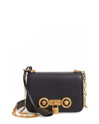 Versace First Line Icon Mini Leather Shoulder Bag