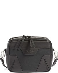 Rag & Bone Flight Camera Leather Shoulder Bag Black