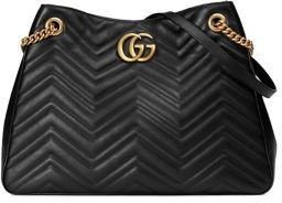 63bdf23bd2e7 Gucci Gg Marmont Matelasse Leather Shoulder Bag, $2,450 | Saks Fifth ...