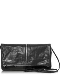 Francesco Biasia Harlem Foldable Leather Crossbody Bag