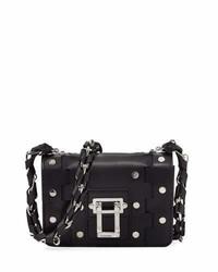 Proenza Schouler Hava Chain Leather Crossbody Bag Black