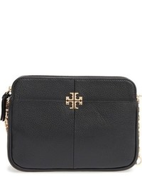 Tory Burch Ivy Leather Crossbody Bag Brown