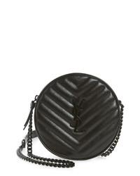 Saint Laurent Jade Matelasse Leather Crossbody Bag