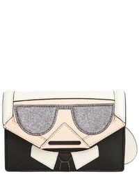 Karl Lagerfeld Kocktail Karl Faux Leather Crossbody Bag