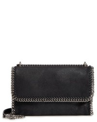 Stella McCartney Large Shaggy Deer Flap Crossbody Bag