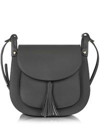 Le Partier Buttercup Black Leather Crossbody Bag