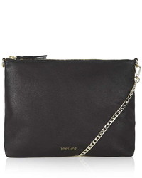 Topshop Leather Chain Crossbody Bag