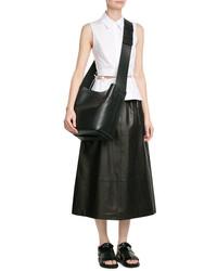 Marni Leather Messenger Bag