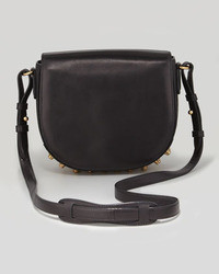 Alexander Wang Lia Small Leather Crossbody Bag Black
