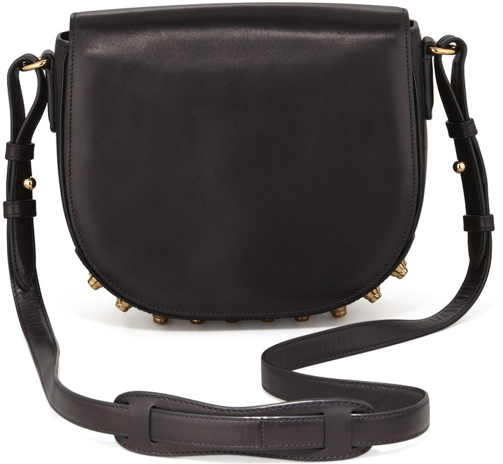 88c2edf9bbcf ... Alexander Wang Lia Small Leather Crossbody Bag Black ...