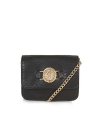 Topshop Lion Head Crossbody Bag