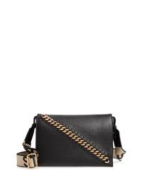 Stella McCartney Logo Faux Leather Crossbody Bag