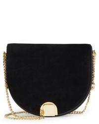 Ted Baker London Flossi Leather Crossbody Bag Black