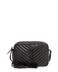 Saint Laurent Lou Matelasse Calfskin Leather Camera Bag