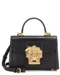 Dolce & Gabbana Lucia Mini Leather Cross Body Bag