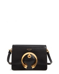 Jimmy Choo Madeline Goatskin Leather Shoulder Bag