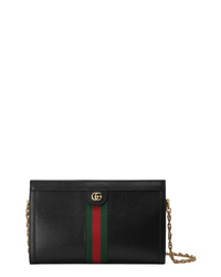 Gucci Medium Ophidia Leather Shoulder Bag