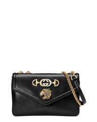 523e051b7 Women's Black Leather Crossbody Bags by Gucci | Women's Fashion ...
