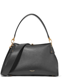Michael Kors Michl Kors Collection Miranda Leather Shoulder Bag Black