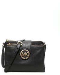Michael Kors Michl Kors Fulton Small Saffiano Leather Crossbody