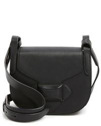 Michael Kors Michl Kors Small Daria Leather Crossbody Bag Black