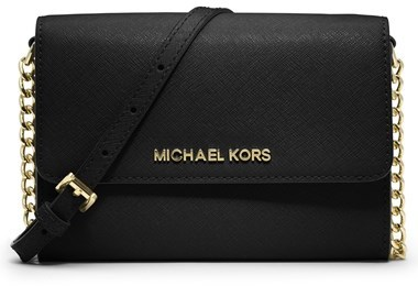 ca5deaaf1962 ... MICHAEL Michael Kors Michl Michl Kors Jet Set Large Phone Saffiano  Leather Crossbody Bag ...
